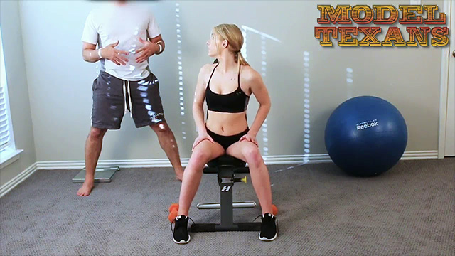 Nubile Natalie Nixon walked into the Texas Sex Training Gym thinking it was training to be sexy. Instead she got a full hands-on course on how to get suck dick, get sucked, get duck and to take a lot of cum in the face. All this before 8 AM in the morning? Nice.