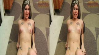 This version of Diablo's handjob video was shot in 3-D using a FujuFilm FinePix Real 3D W3. To view in 3-D, you just need to size the video to where you can cross your eyes so that the two images overlap to make 3 images. The middle image will be in 3D. This is known as cross-viewing (or sometimes cross-eyed viewing).