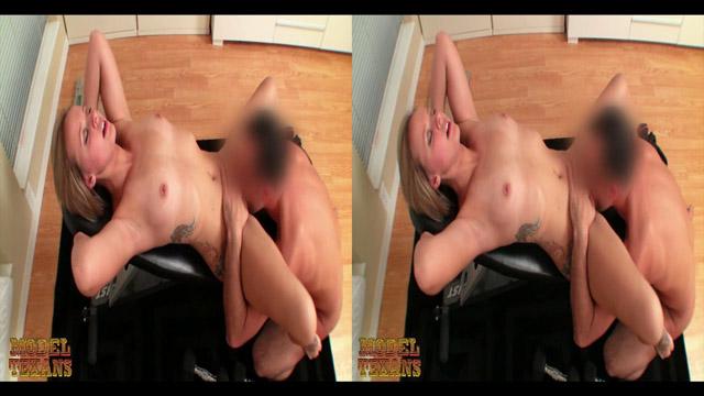 Jenna Suvari Trains At The TexSex Gym (Stereoscopic 3D), part 3