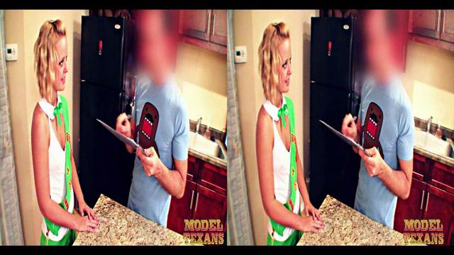 Cute blonde texan babe Jenna Suvari pre-fuck talk